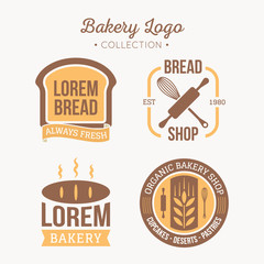 Bakery logo collection