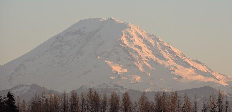 Sunset on Mt Rainier, Washington 06
