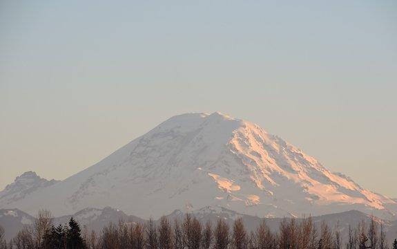 Sunset on Mt Rainier, Washington 05