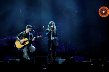 Rita Wilson performs during the I Am The Highway: A Tribute to Chris Cornell concert at The Forum in Inglewood, California