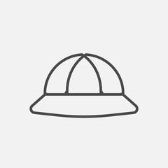 Hat line icon