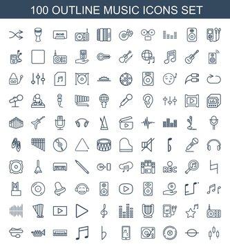 100 music icons