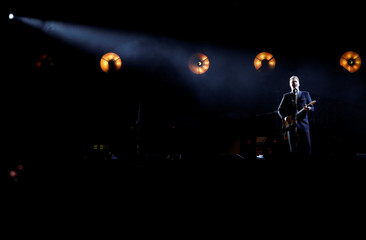 Josh Homme performs during the I Am The Highway: A Tribute to Chris Cornell concert at The Forum in Inglewood