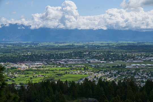 Kalispell, Montana from Above (Explored)