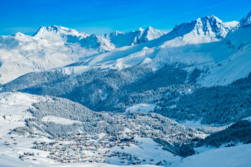 Arosa village from above