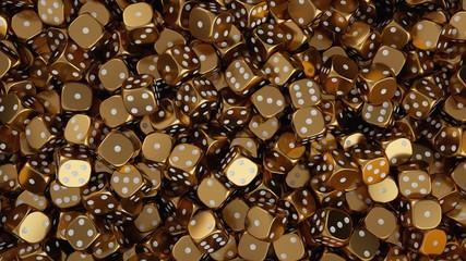 Lucky golden dice