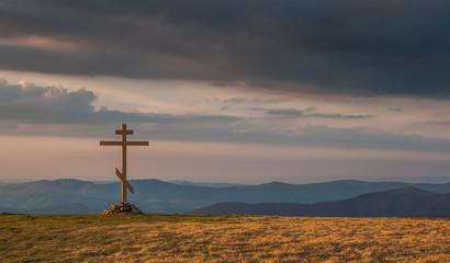 Spring Carpathian landscapes