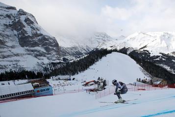 Ski World Cup Wengen - Men's Downhill Training