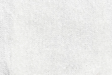 White Polyester Cotton fabric Texture for background