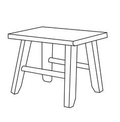 furniture chair sketch