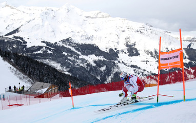Ski World Cup Wengen - Men's Downhill Training