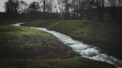 moody milky River