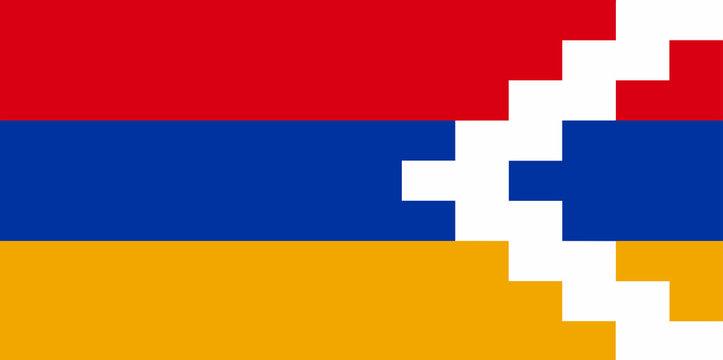 Artsakh National Flag