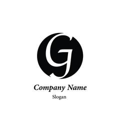 "Modern vector logo of character ""G"""