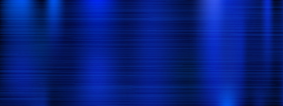 Metal texture. Blue metal scratched background