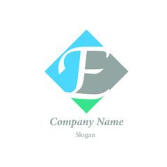 "Modern vector logo of character ""E"""