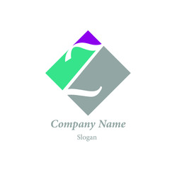 "Modern vector logo of character ""Z"""