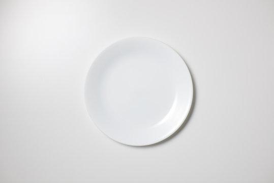 白皿 皿 真俯瞰