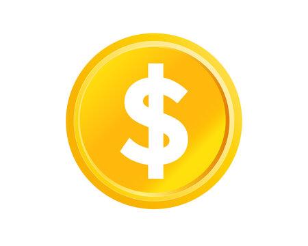 お金 コイン ゴールド $ ドル