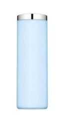 Blue nail polish isolated on a white background