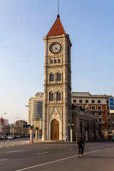 Entrance of Italian Style town in Tianjin, China