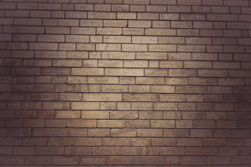 old, vintage brick wall, free space, stone wall.