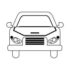 Car front view vehicle