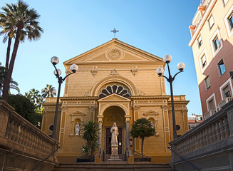 Capuchin brothers church in San Remo, Italy