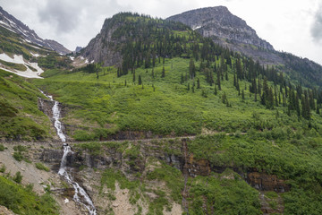 The Road to the Sun Glacier National Park Montana USA