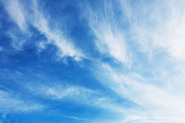 clouds and blue sky nature background