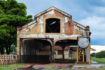 Galpão da antiga Estação de Trem em Três Lagoas - MS