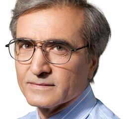 Portrait of a Senior Man's Face