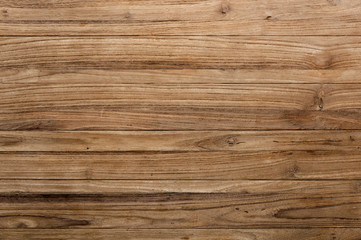 Poster Wood Brown wooden texture flooring background