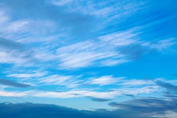 blue summer sky