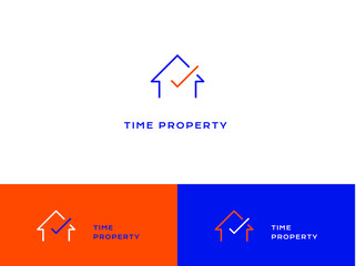 Time share property logo