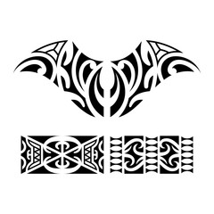 5b9cf922a Traditional Maori Taniwha tattoo - Buy this stock vector and explore ...