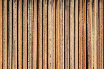 vertical mat twigs, macro, background, texture