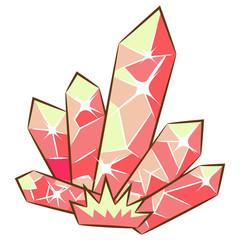 crystal vector design