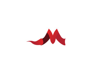 Letter M vector icons such logos