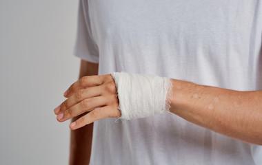 bruised arm bandage