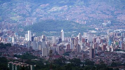 Centro de Medellín, desde el Oriente