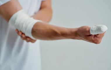 bite elbow injury