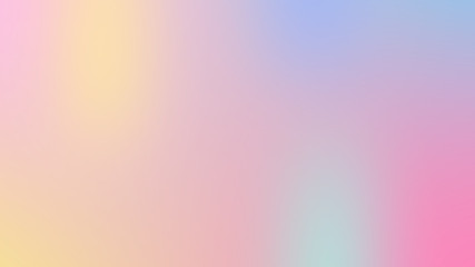 Abstract Kawaii pastel soft colorful smooth blurred textured background off focus toned in pink color