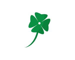 Clover Leaf Logo Template