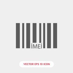 imei code icon vector