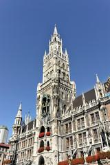 Neues Rathaus, München, Oberbayern, Bayern, Deutschland, Europa, ÖffentlicherGrund, Europa