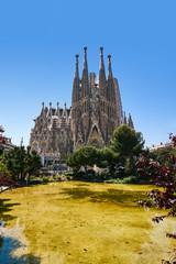 Tuinposter Barcelona Katedra Sagrada Familia