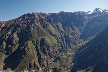 Kanion Colca w Andach peruwiańskich