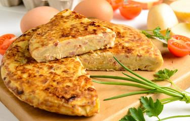 Tradizionale frittata spagnola