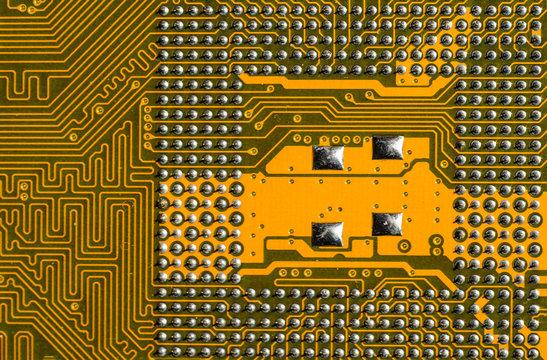Close-up Main Board Circuit Board